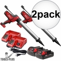 Milwaukee 2642-21CT M18 Cordless 20oz Sausage Caulk Adhesive Gun Kit 2x