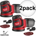 "Milwaukee 2648-20 M18 5"" Random Orbit Sander (Tool Only) 2x"