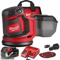 "Milwaukee 2648-21 M18 5"" Random Orbit Sander Kit"