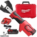 Milwaukee 2672-21 M18 FORCE LOGIC Cable Cutter Kit w/ 750 MCM Cu Jaws