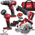 Milwaukee 2694-24 Cordless 18V Lithium-Ion 4-Tool Combo Kit