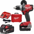"""Milwaukee 2705-22 M18 FUEL 1/2"""" Drill/Driver with ONE-KEY Kit"""
