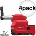 Milwaukee 2712-DE HAMMERVAC Dedicated HEPA Dust Extractor 4x