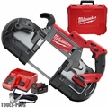 Milwaukee 2729-21 M18 Fuel Deep Cut Band Saw Kit with Batt