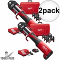 "Milwaukee 2773-22 1/2"" - 2"" M18 Force Logic Press Tool Kit 2x"