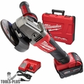 "Milwaukee 2781-21 M18 FUEL 4-1/2""/5"" Grinder, Slide Switch Lock-On Kit"