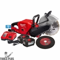 "Milwaukee 2786-22HD M18 FUEL 9"" Cut-Off Saw w/ ONE-KEY Kit"