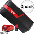 Milwaukee 2891-21P M18 M12 JOBSITE SPEAKER KIT 3x