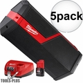 Milwaukee 2891-21P M18 M12 JOBSITE SPEAKER KIT 5x