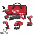 Milwaukee 2896-24 M18 18V Gen 2 FUEL Li-Ion 4-Tool Combo kit