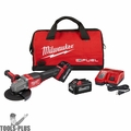 "Milwaukee 2980-22 M18 FUEL 4-1/2""-6"" NoLock Braking Grinder w/Paddle 2 Batts"