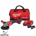"Milwaukee 2981-21 M18 FUEL 4-1/2""-6"" NoLock Braking Grinder w/Slide Switch"