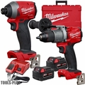 Milwaukee 2997-22 M18 FUEL Hammer Drill & Impact Driver Combo Kit