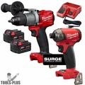 Milwaukee 2999-22 M18 FUEL 2-Tool Hammer Drill and Hydraulic Driver Kit
