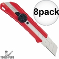 Milwaukee 48-22-1962 25mm Snap-Off Utility Knife with Metal Lock 8x