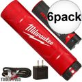 Milwaukee 48-59-2003 REDLITHIUM USB Battery & Charger Kit 6x