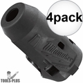 "Milwaukee 49-16-2553 M12 FUEL 1/4"" Impact Driver Wrench Protective Boot 4x"