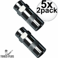 Milwaukee 49-16-2649 2pk High Pressure Grease Coupler 5x