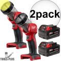 Milwaukee 49-24-2735 M18 XC 4.0 Battery + Worklight 2x