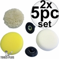 Milwaukee 49-36-2438 5pc Accessory Pack for M12 Polisher/Sander 2x