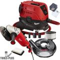 "Milwaukee 6088-31 15 Amp 7""/9"" Large Angle Grinder w/HEPA Dust Extractor"