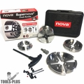 Nova Lathes 23099 NOVA SuperNOVA2 Chuck 30th Anniversary Bundle w/ Case