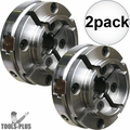 "Nova Lathes 48111 1""-8 TPI Direct Thread Midi Wood Turning Chuck 2x"