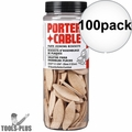 Porter-Cable 5562 100pk #20 Plate Joiner Biscuits