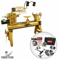 Powermatic 1794224K 4224B 3HP, 3PH, 220V Lathe with FREE Nova 23099 Chuck Bundle