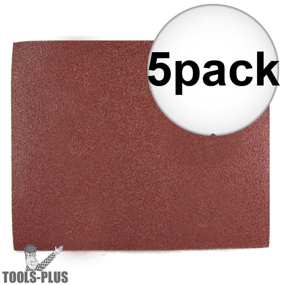 """Pack of 20 sheets 07660702633 NEW Norton 3X  320 Grit Sandpaper 9/"""" x 11/"""""""