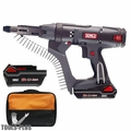 "Senco DS312-18V 18V 2500rpm 3"" DuraSpin Auto-feed Screwgun + 2 Batt, Chrgr"