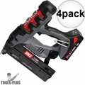 "Senco F-16S Cordless 2 1/2"" Finish Nailer 4x"