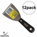 "Stanley 28-139 3"" Plastic Handle Wall Scraper 12x"