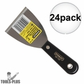 "Stanley 28-139 24pk 3"" Plastic Handle Wall Scraper"