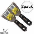 "Stanley 28-139 3"" Plastic Handle Wall Scraper 2x"