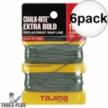 "Tajima PL-ITOL 100 ft .04"" Bold Braided Replacement Chalk Line 6x"