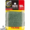 Tajima PL-ITOLL 100' Extreme Bold Chalk-Rite Replacement Line 1.8x30mm