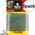 Tajima PL-ITOLL 5x 100' Extreme Bold Chalk-Rite Replacement Line 1.8x30mm