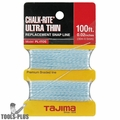 "Tajima PL-ITOS 100 ft .02"" Ultra Thin Braided Chalk Line"