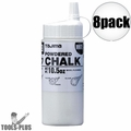 Tajima PLC2-W300 10.5oz 300g Micro Powder Ultra Fine Line Chalk White 8x