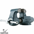 "Wilton 10066 3-1/2"" Machinists' Bench Vise w/ Stationary Base"