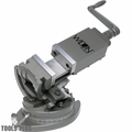 "Wilton 11702 4"" Super Precision 3-Axis Tilting Machine Vise"