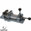 "Wilton 13401 4"" Cam Action Drill Press Vise w/ Stationary Base"