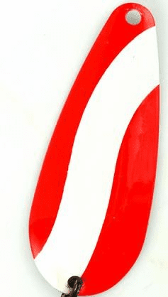 1-3/4 Red & White Striped