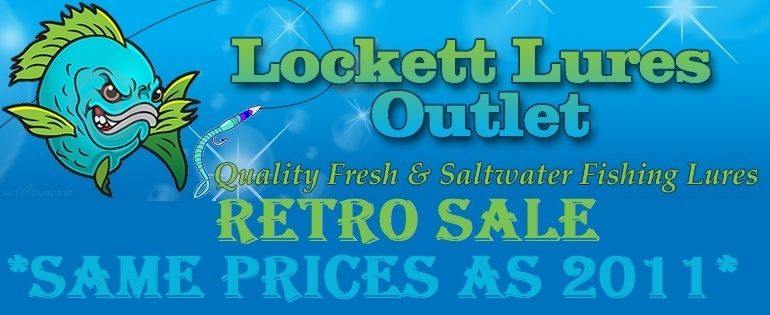 Lockett Lures Outlet - Quality Fishing Lures Made in the USA