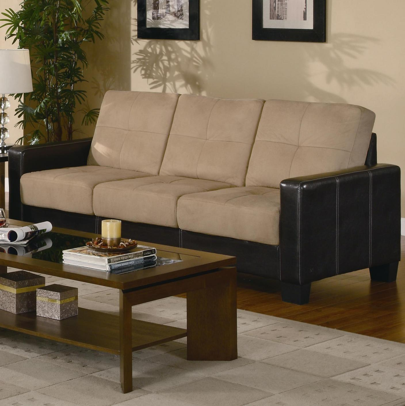 Leather Sofa Beige: Beige Leather Sofa Loveseat And Chair Set