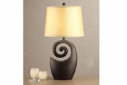Brown Ceramic Table Lamp