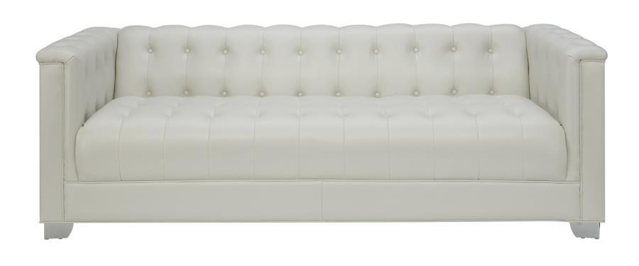 White Leather Sofa - Steal-A-Sofa Furniture Outlet Los Angeles CA