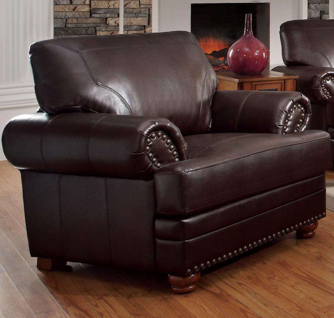 Brown Leather Chair Steal A Sofa Furniture Outlet Los
