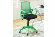 Green Fabric Office Chair